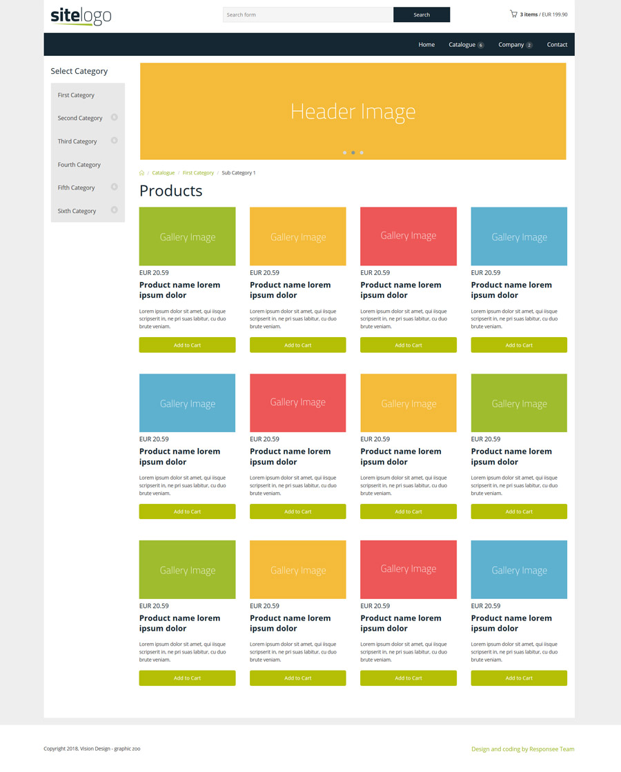 Blank Website Templates: 17 Free Amazing Responsive Business Website Templates
