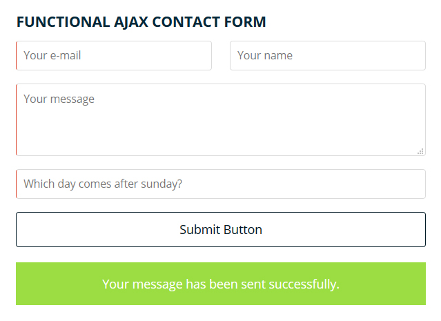 funkctional-ajax-contact-form