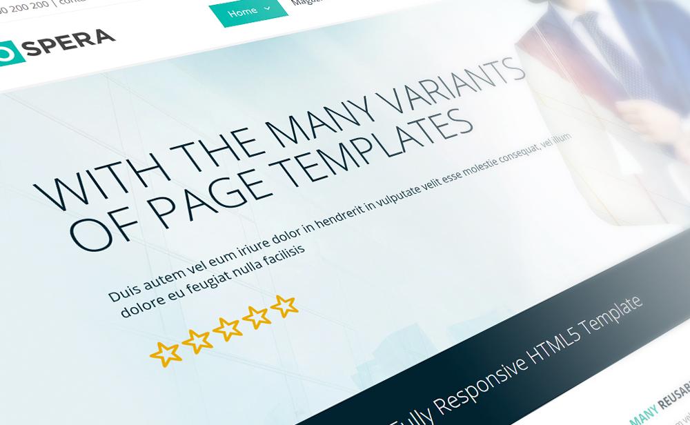 prospera premium business responsive template