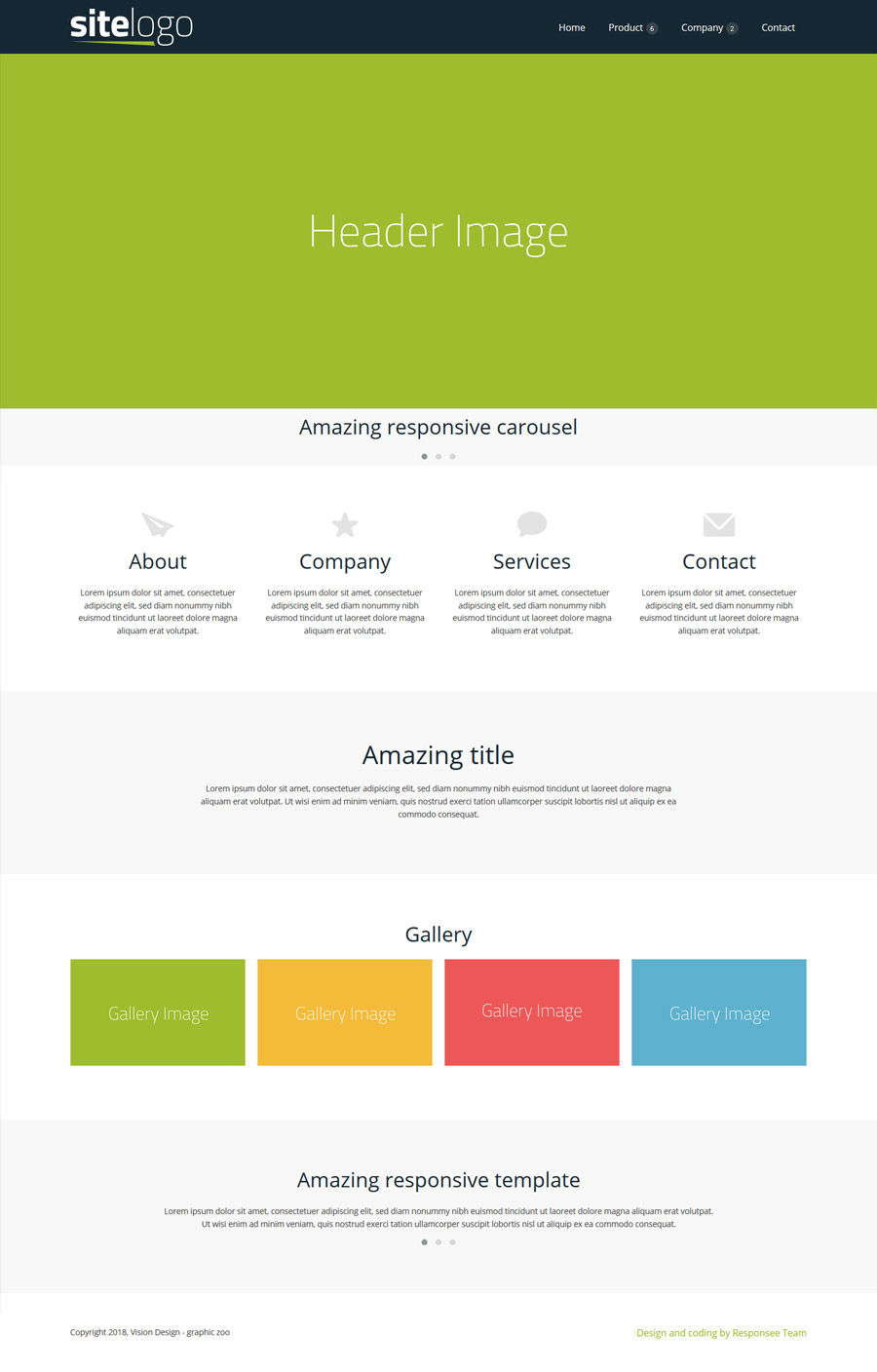 15 Free Amazing Responsive Business Website Templates